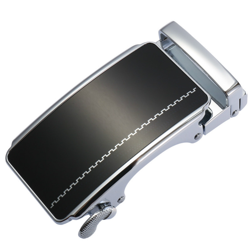 Genuine Men's Belt Head,Belt Buckle,Leisure Belt Head Business Accessories Automatic Buckle Width 3.5CM Luxury Belts LY136-21860