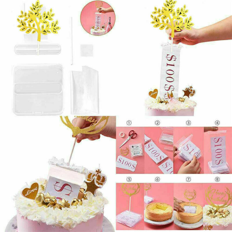 Funny Toy Box Cake Money Props Making Surprise For Birthday Cake Party 2019