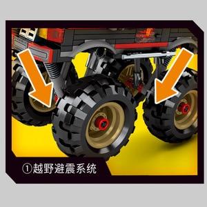 Image 3 - SY1326 282 шт спецназ PUBG город армейское оружие WW2 солдат монстр грузовик модель строительные блоки кирпичи детские игрушки блоки военные