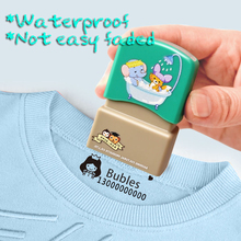 Sticker Stamps Name-Seal Customized DIY Baby Fade Prevent Not-Easy