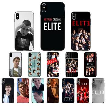 YNDFCNB Spanish TV series Elite Season aron piper Phone Case for iphone 11 Pro Max X XS MAX 6 6s 7 8 Plus 5 5S 5SE XR SE2020 image