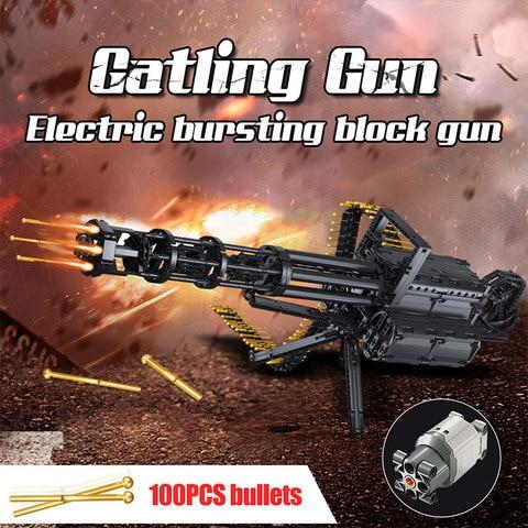 tecnica armas cidade gatling armas modelo