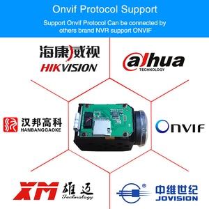 Image 3 - H.265 5MP ip camera module 10X Zoom cctv ip cameras ptz Onvif Low illumination video surveillance block camera module for uav