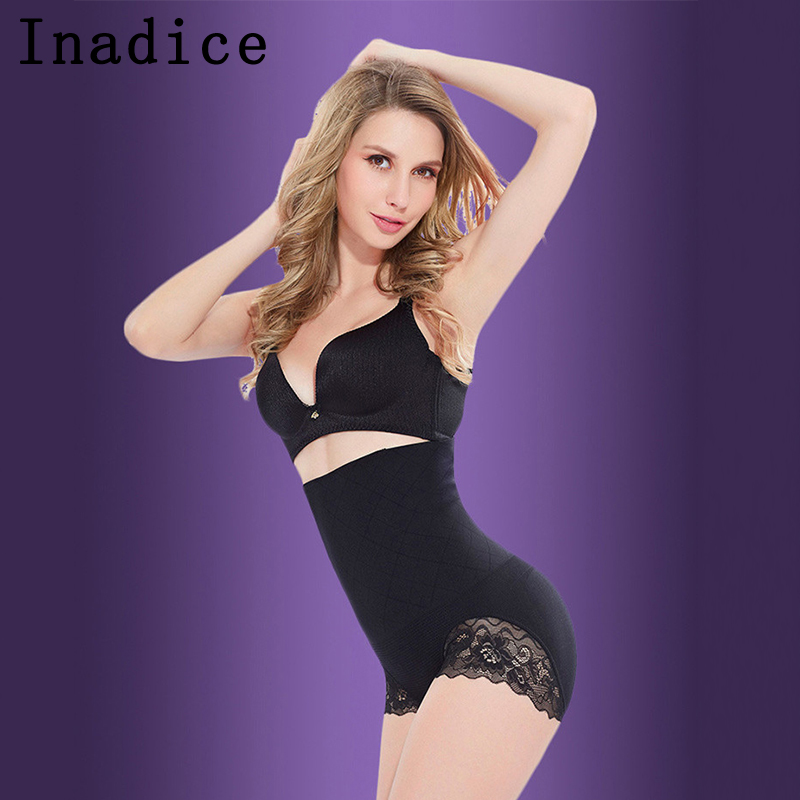 Inadice High Waist Control Panties Skin Corset Belt Ladies Breathable Body Shaper Women Fashion Spandex Seamless Sexy Underwear