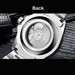 Image 3 - TEVISE T801 التلقائي ساعة ميكانيكية الرجال 2020 مقاوم للماء ساعات رجالي العلامة التجارية الفاخرة الأزرق ساعة اليد Relogio Masculino 2019