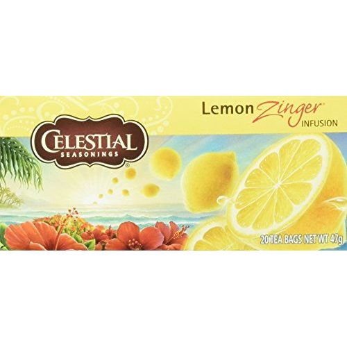 CELESTIAL SEASONINGS - NATURAL Celestial Seasonings 20 Bags Herb Tea Lemon Zinger 1er Pack(1 X)