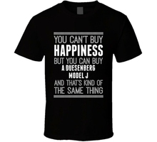 Buy A Duesenberg Model J Happiness Car Lover T Shirt