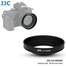 JJC ABS בורג במכסה עדשה עבור ניקון Z50 מצלמה + Nikkor Z DX 16 50 F/3.5 6.3 VR עדשת להחליף ניקון HN 40 עדשת צל מגן