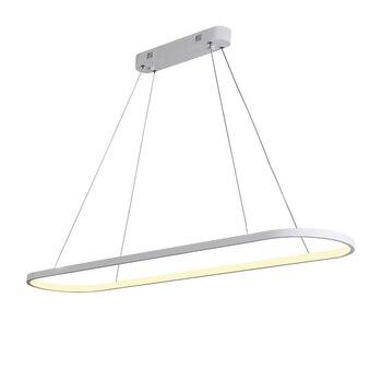 Lámpara colgante LED de Luces colgantes modernas, accesorios de iluminación de línea,...