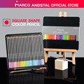 Andstal ייחודי מרקו כיכר גוף 12/24 סטנדרטי/פסטל צבעים צבע עיפרון לפיס דה cor מקצועי עפרונות צבעוניים עבור בית הספר באתר