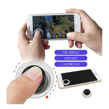 360° PUBG Controller Thumb Grips Button Tablet Joystick Joypad For iPhone Ipad Touch