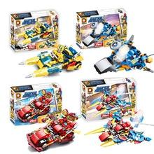 Thanos Captain Marvel Avengers 4 Endgame Block Iron Man Spiderman America Building Blocks Figures Toys For Kids B836