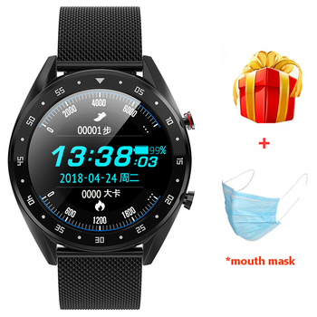 L7 Smart Watch Support Phone Call Dialer ECG Heart Rate Measure Bluetooth Smartwatch Waterproof Ip68 Watch Men Women Android IOS