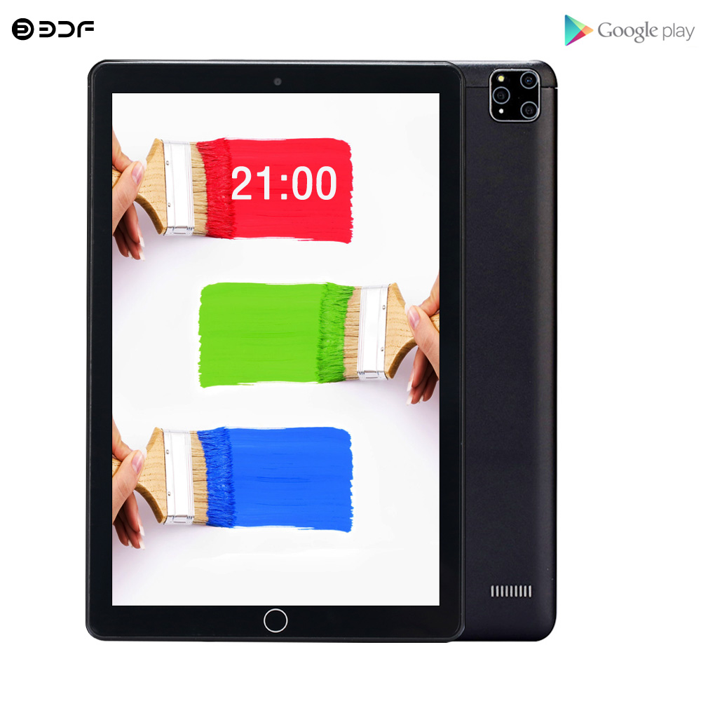 New 10.1 Inch 3G Mobile Phone Call 2 SIM Card 2GB RAM +32GB ROM FM WiFi Tablet Pc Android 7.0 WiFi Bluetooth IPS LCD Display