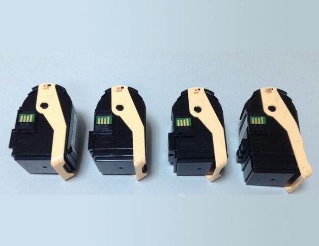 Один набор 4 шт тонер-картриджи для Xerox Phaser 7100 картридж, Заправка тонер для Xerox Phaser 7100 7100N 7100DN принтер