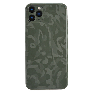 Camouflage Camo Pattern Phone Skins Wraps for iPhone 11 Pro X XR Xs Max 8 7 Plus Slim Fit Thin Military Style Sticker Back Film(China)