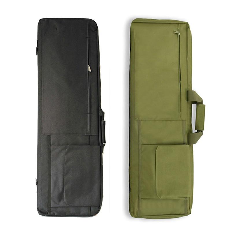 85cm/100cm Tactical Hunting Gun Bag Army Shooting Airsoft Sniper Gun Case Military Paintball Fishing Bag Camping Hiking Backpack