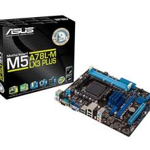 CPU Socket-Am3 Micro Atx M5A78L-M PLUS 760G/780L Asus AMD DDR3 1866 LX3 32g-Support 3GB/S