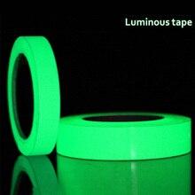 Светящаяся лента, светящаяся самоклеящаяся зеленый светильник, светящаяся лента, наклейка 15 мм X 3 метра/рулон, водонепроницаемая, фотолампа