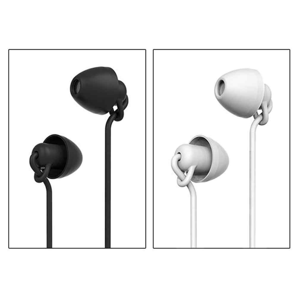רך שינה אוזניות אוזניות 3.5 אוזניות עבור Samsung Xiaomi כבוד iPhone 7 בתוספת Huawei שינה אוזניות לילדים ילדים