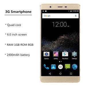 Image 5 - מכירת חיסול 3G WCDMA gsm אנדרואיד 6.0 celular smartphone Quad Core מגע טלפונים סלולרי סין זול נייד טלפון טלפונים מקרה