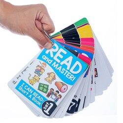 107 групп/набор корней английской акустики флэш-карты для детей Монтессори Обучающие Развивающие игрушки для детей обучающие средства Детск...