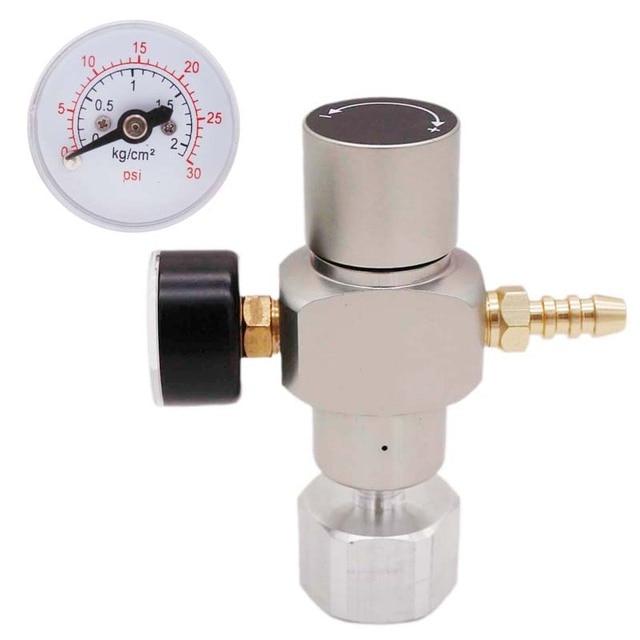 2 в 1 Sodastream CO2 мини газовый регулятор CO2 зарядное устройство TR21 * 4 0 30 PSI Keg зарядное устройство для европейского пивного Kegerator