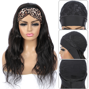 Image 3 - 1 2 5 Pcs Lot Body Wave Wigs HeadbandวิกผมบราซิลBody Wave HeadbandวิกผมธรรมชาติผมChicผ้าพันคอผ้าพันคอวิกผมเจวารินแป้งหอมผม