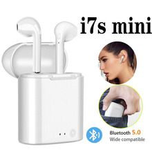New i7 i7S Mini TWS Bluetooth 5.0 Earphone True Stereo Wireless Earbuds With Charging Box MIC For iPhone Android Smartphone i7s