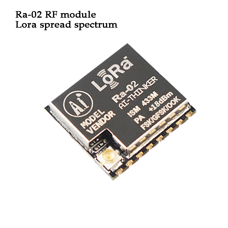 Ra-02 SX1278  RF Module LorSpread Spectrum 433MHz SPI Interface FSK GFSK MSK Data Collection IOT Wireless Data Terminal