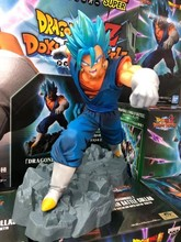 BANPRESTO DRAGON BALL Z DBZ Dokkan Battle God Blue Vegetto Toys Figurals Model Dolls Brinquedos(China)