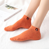 Socks female socks A300 spring new cotton short boat socks mouth spring summer autumn wear