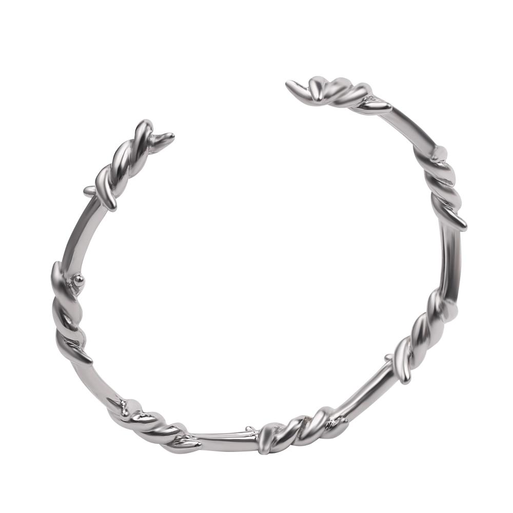 Barbed Wire Bracelet Cuff Bangle T