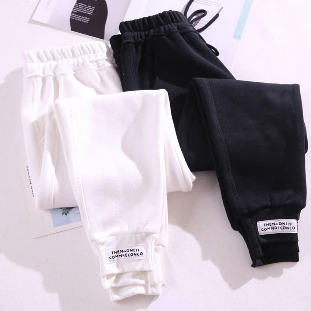 KANCOOLD Pants Women's Solid Casual Track Pants Harem Trousers Sports Exercise  Pants Fashion New Pants Women 2019DEC26