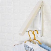 VIP Mini wall-mounted bathroom small retractable hidden clothes hanger, folding hanger invisible