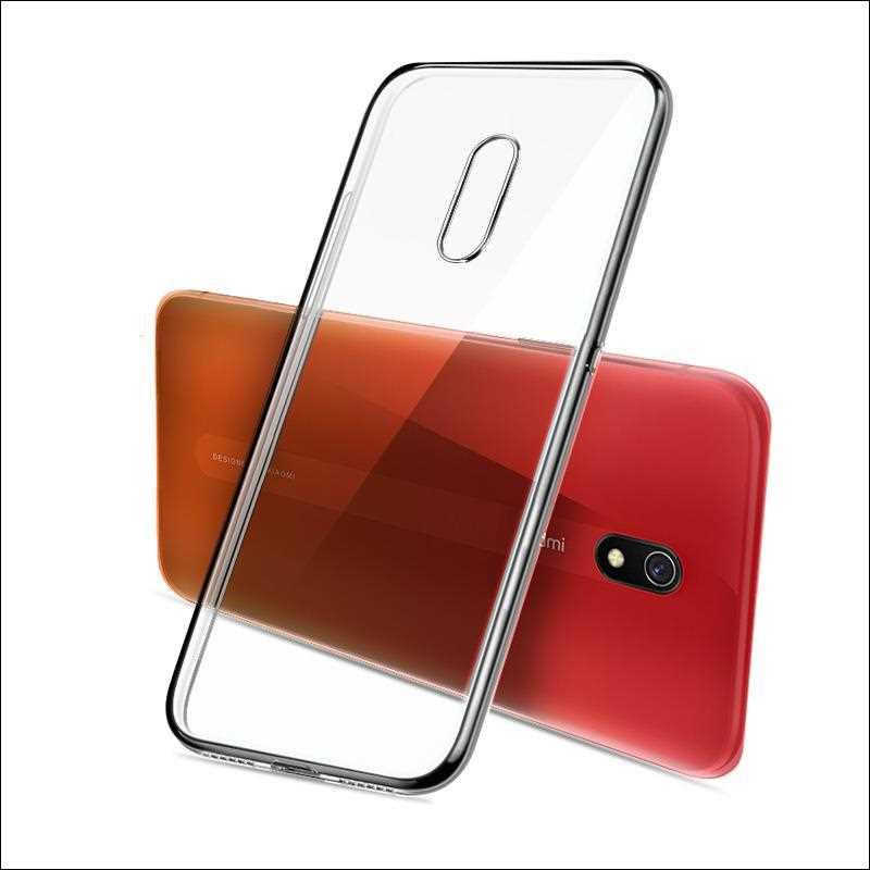 Ultra Thin Clear Transparent Soft TPU Case For Xiaomi Redmi 8A 7A 6A 8 7 6 Pro Phone Case Cover