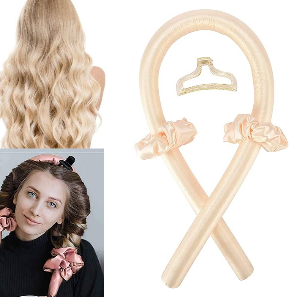 Heatless Curling Rod Heatless Hair Curls Headband Make Hair Soft And Shiny Hair Curler Hairdressing Tools Heatless Hair Curls