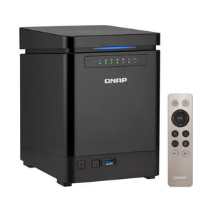 QNAP TS-453Bmini 8G 4-bay diskless NAS, nas server nfs network storage cloud storage, 3 years warranty