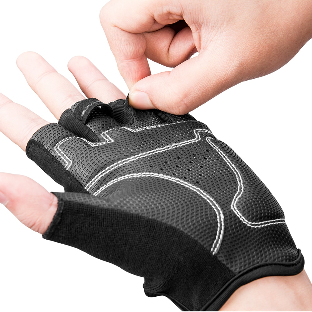 Breathable Half Finger Cycling Gloves Motorcycle Bicycle MTB Bike Riding Gloves