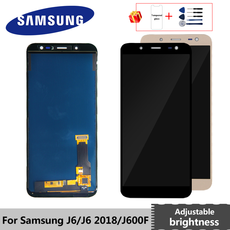 J600 LCD For Samsung Galaxy J6 J600F J600Y LCD Display Touch Screen For Samsung J600G Display SM-J600F J600FN/ds Assembly Parts