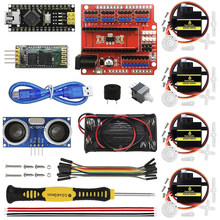 Diy Elektronica Onderdelen Starter Kit Voor Otto Robot Maker Diy Programmeerbare Robot Kit Voor Kids(China)