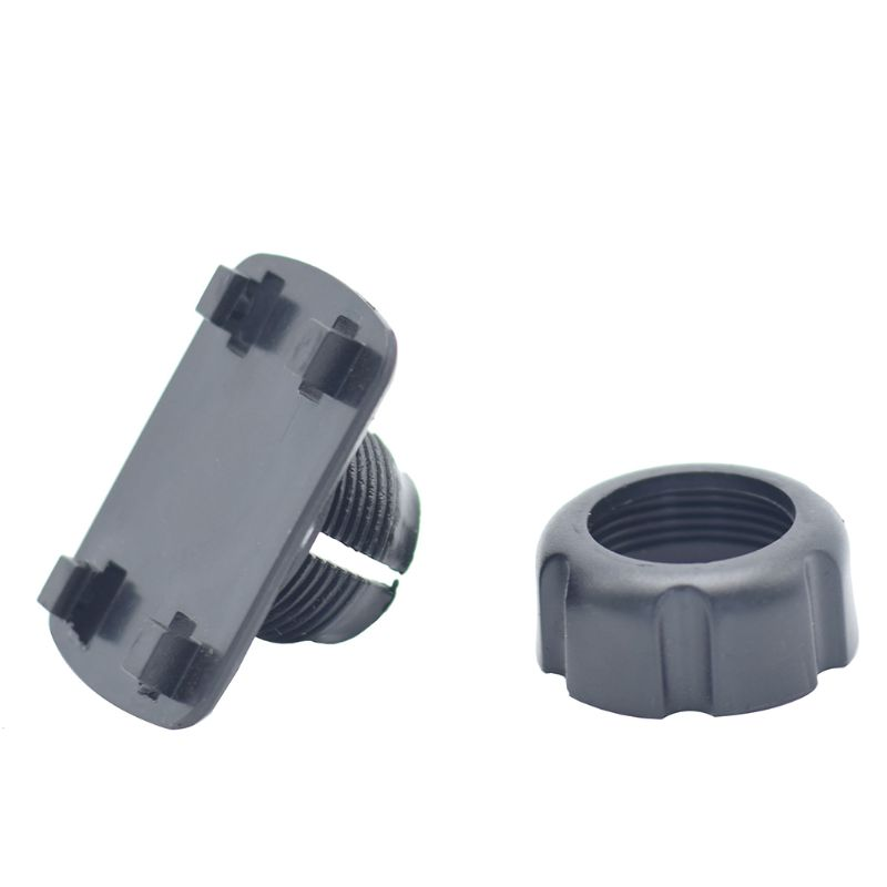 17mm Round Dead To 4 Buckle Adapter For Car Cellphone Holder Tablet Stand Cradle H55F