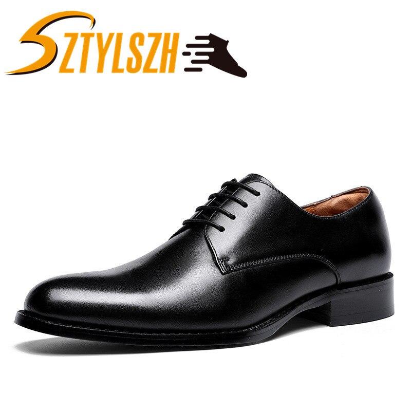Модная брендовая мужская обувь; Мужская обувь из натуральной кожи; повседневная мужская обувь; роскошные классические деловые классически...