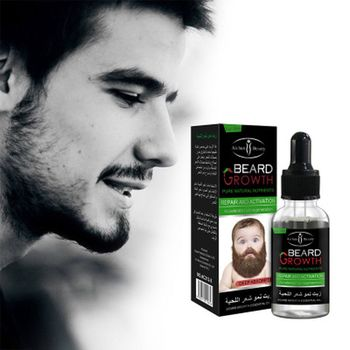 30ml Natural Men Organic Beard Essential Oil Nourishing Moustache Hair Facial Hair Grow Beard Growth Oil Grow Men Strength Beard недорого