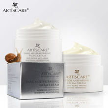 ARTISCARE + Snail Repair Peptide Facial Cream Whitening Anti Aging Face Care Acne Treatment Oil-ควบคุมรูขุมขนผิว care(China)