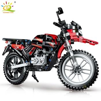 "Конструктор HUIQIBAO ""Мотоцикл"", 481 шт. 2"