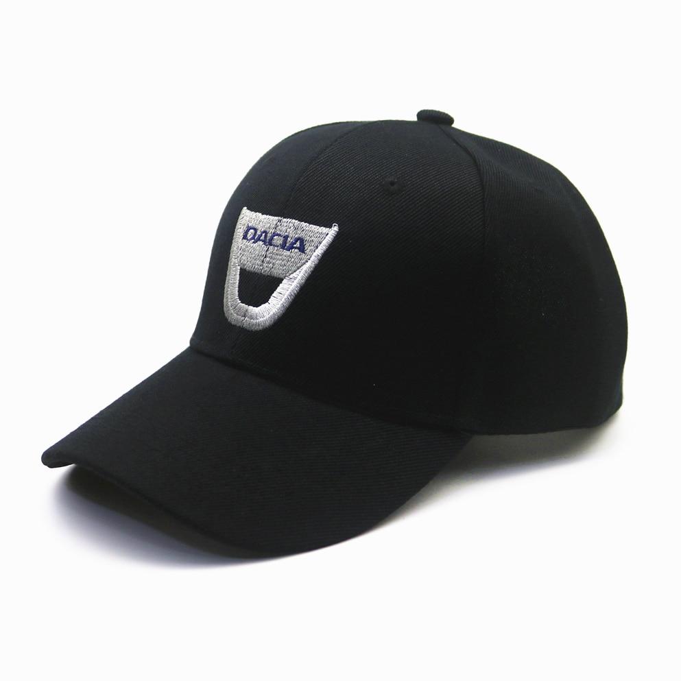 1pcs Baseball Cap Unisex Hip Hop Cap Bone Cotton Snapback Sun Hat For Dacia Lodgy 2 Mcv Sandero Duster Logan Sandero
