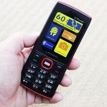 LEAGOO C Power 2G GSM 4000 мАч функция мобильный телефон двойная карта Английский Арабский пожилый кнопочный сотовый телефон PK Guophone A6