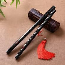 Alta qualidade flauta tradicional chinesa instrumentos musicais de bambu dizi flauta para iniciante c d e f g chave transversal