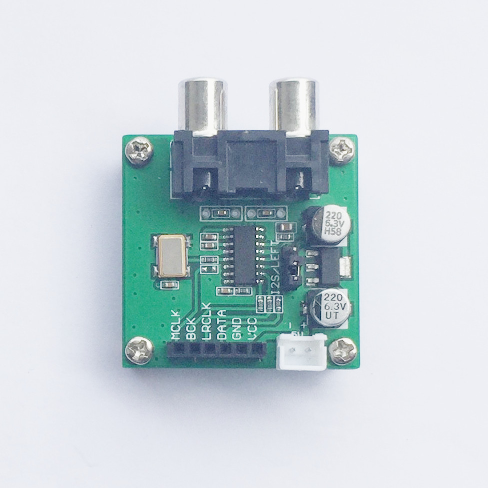 ES9023 Decoder Board I2S Input/192KHZ 24bit Synchronous Asynchronous Red Core Player Upgrade